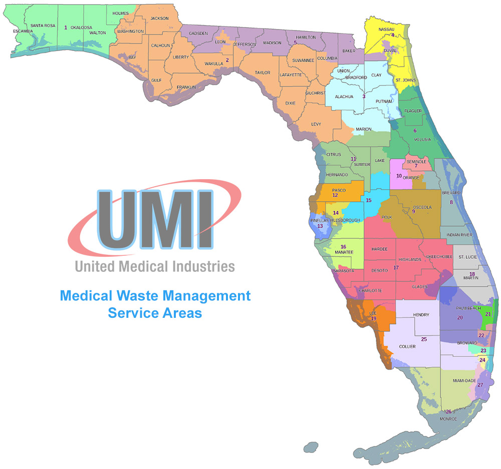 medical waste management service area