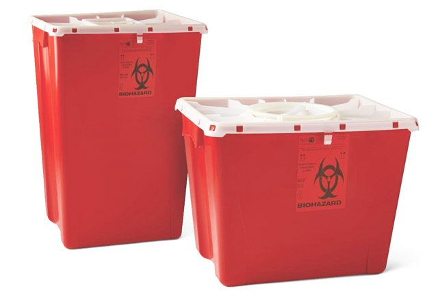 medical waste safety supplies