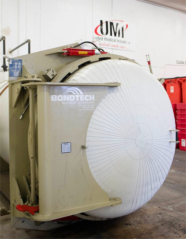 medical waste management autoclave