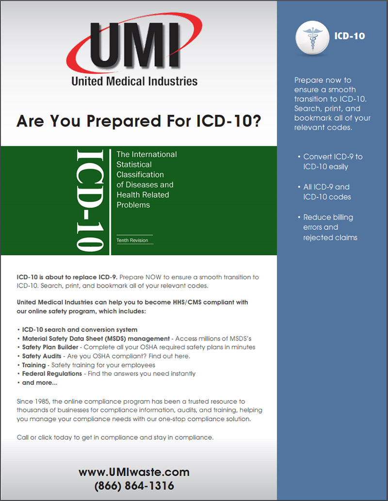OSHA ICD 10 certification classes